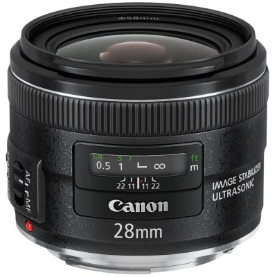 CanonEF28mmF28ISUSM廣角鏡公司貨