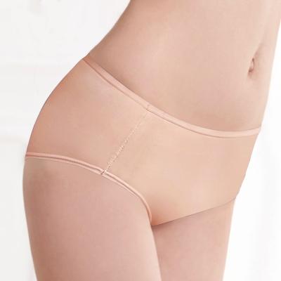 曼黛瑪璉 低腰平口內褲(清透膚)