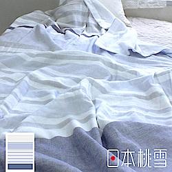 日本桃雪今治毛巾被(月光藍)