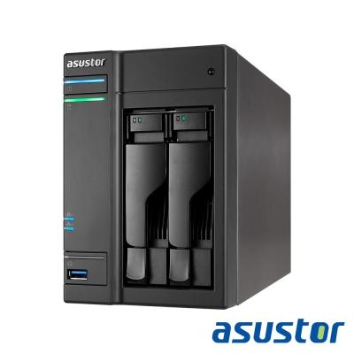 ASUSTOR華芸 AS6102T 2Bay NAS網路儲存伺服器