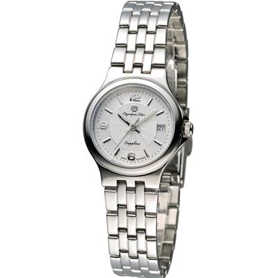 Olympia Star 經典超薄時尚腕錶-銀色/25mm