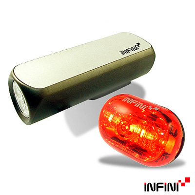INFINI VISON 高亮度專業自行車燈組(C + C)