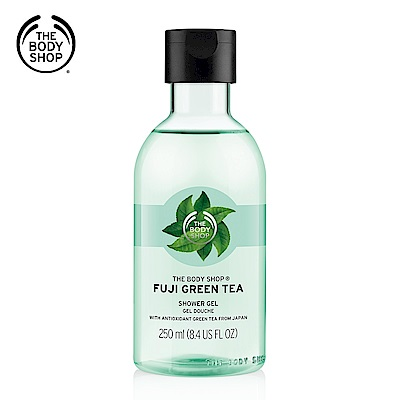 The Body Shop 富士山綠茶淨化沐浴膠250ML