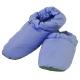 【雅曼斯Amance】天然羽毛保暖拖鞋 居家鞋 羽絨鞋(藍) product thumbnail 1