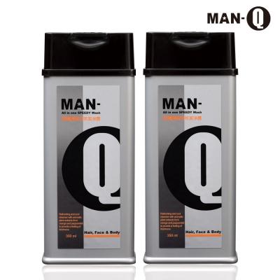 MAN-Q S2柑橘薄荷全效潔淨露350mlX2
