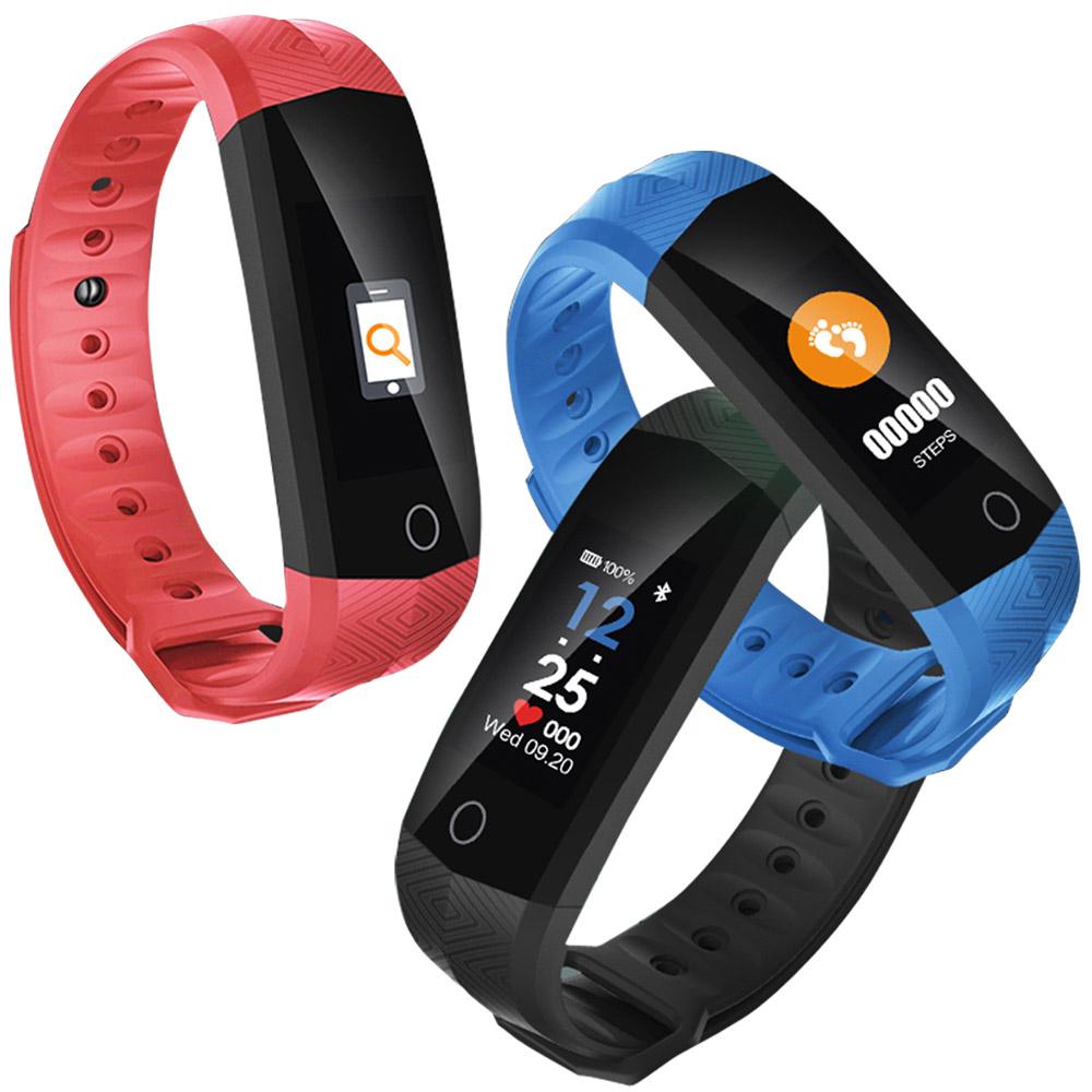 IS愛思ME16HO彩屏運動健康管理智慧手環