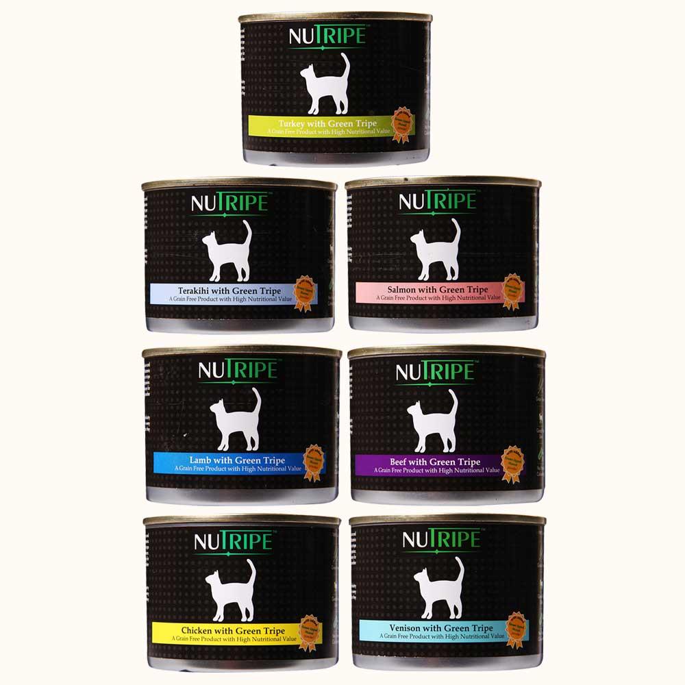 紐萃寶Nutripe 無穀野味貓罐185g 24罐組