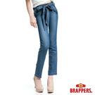 BRAPPERS 女款 BoyFriendJeans系列-女用天絲棉九分褲-藍