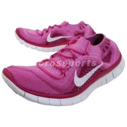 Nike Free Flyknit 赤足 慢跑鞋