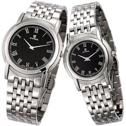 CYMA 優雅羅馬薄型時尚對錶