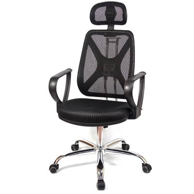 aaronation愛倫國度 - 紓壓機能 - 電腦網椅手枕鐵腳