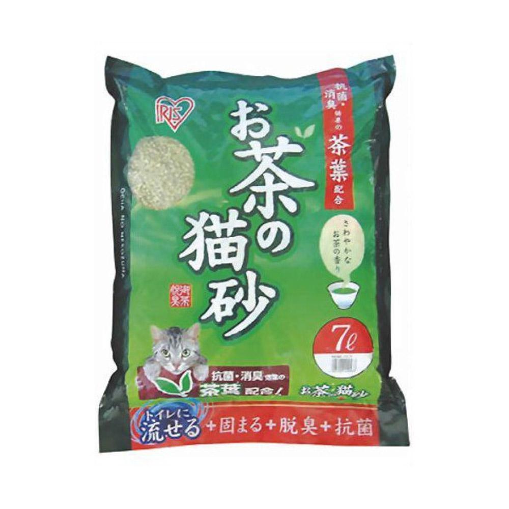 日本IRIS 天然綠茶茶葉豆腐貓砂 7L (OCN-70)