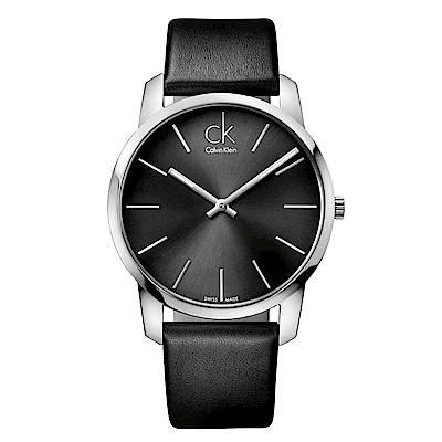 CALVIN KLEIN City都會系列知性手錶-43mm