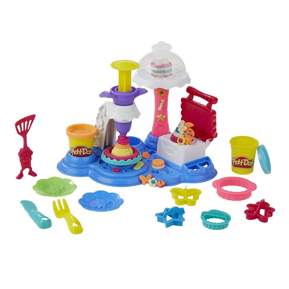 培樂多Play-Doh 創意DIY黏土 蛋糕派對遊戲組 B3399