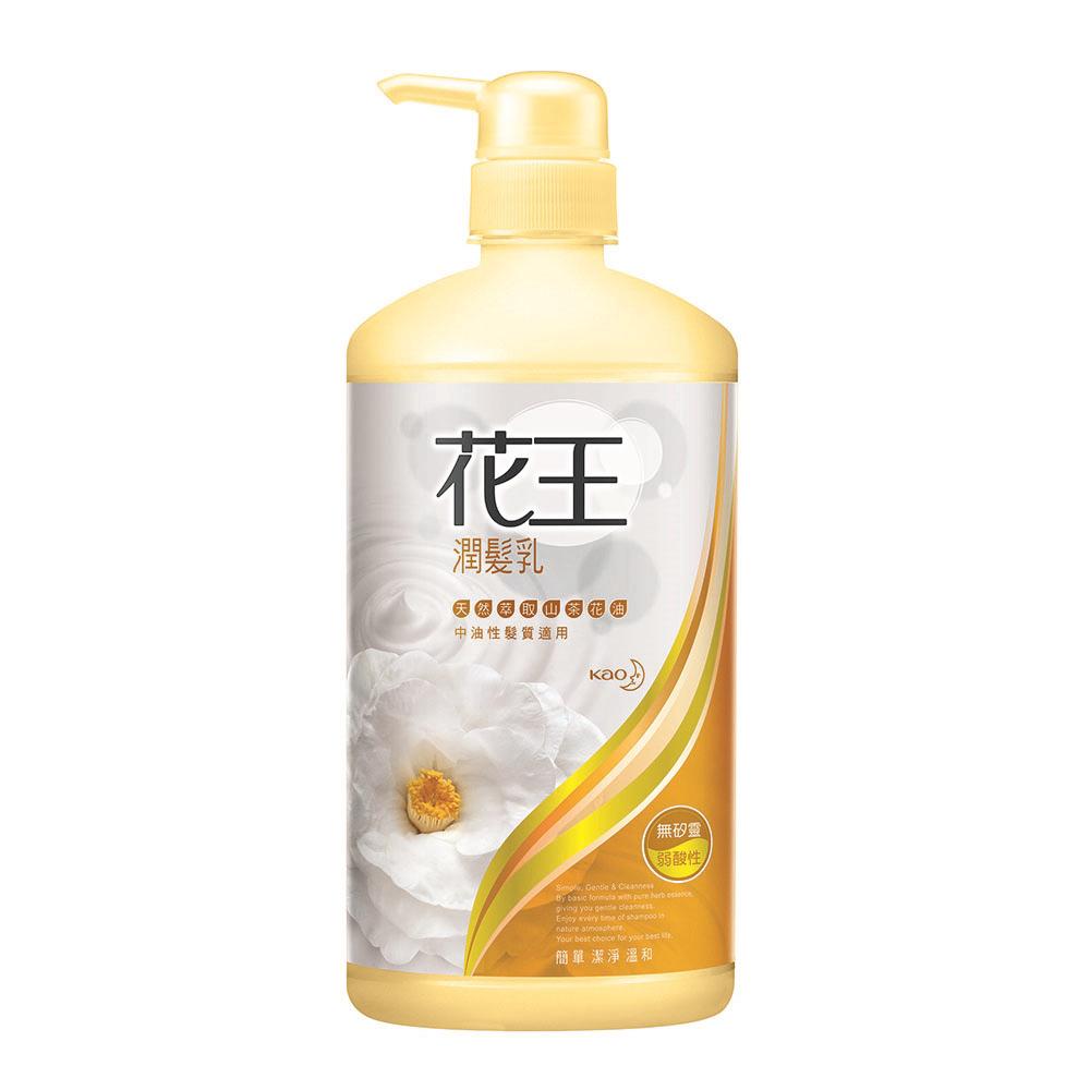 花王 KAO  潤髮乳山茶花 (750ml/瓶)