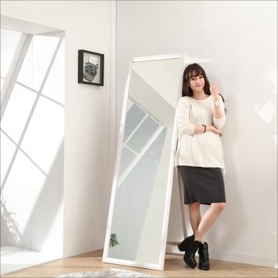 《BuyJM》實木超大壁掛兩用立鏡-高180寬60公分
