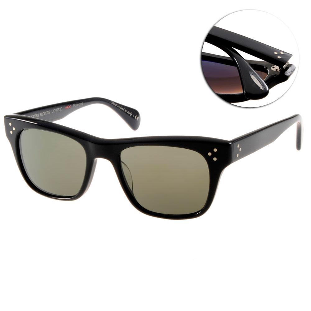 OLIVER PEOPLES太陽眼鏡 好萊塢星鏡/黑#JACK HUSTON 1005P