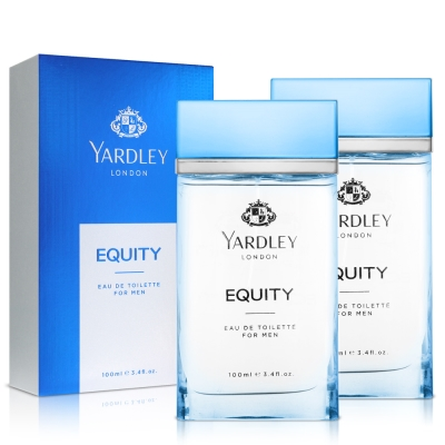YARDLEY雅麗 清爽平衡男性淡香水 100 ml* 2
