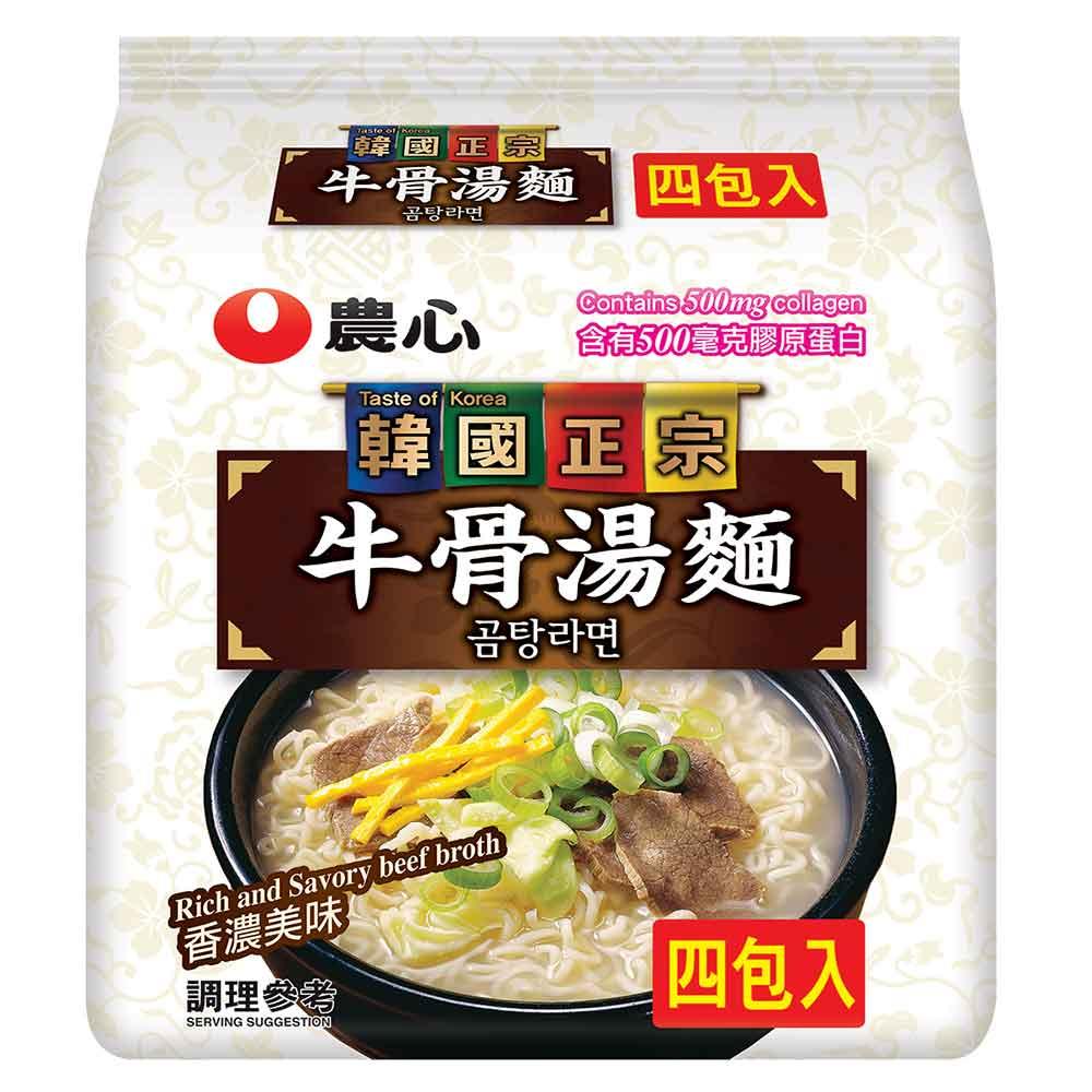 農心 牛骨湯麵(111gx4入)