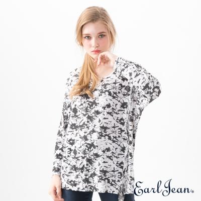 Earl Jean 流蘇造型T恤-白-女