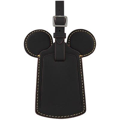 COACH Disney黑色Mickey造型行李吊牌