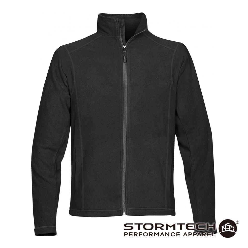 【加拿大STORMTECH】VFJ-2超纖細刷毛保暖外套- 男-黑