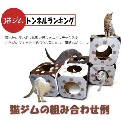 寵喵樂 魔術方塊疊疊樂-貓咪健身房箱 【單個入】