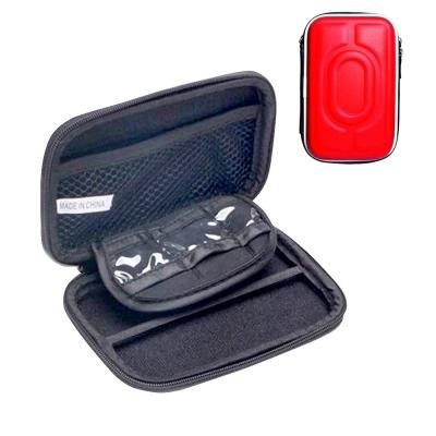 DataStone 3C多功能防震硬殼收納包(適2.5吋硬碟/行動電源//3C產品)-紅色