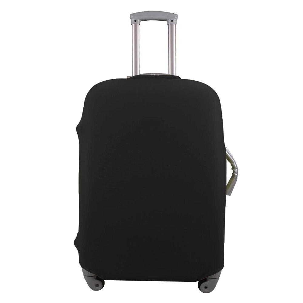 PUSH! 旅遊用品行李箱登機箱彈力保護套防塵套28寸(適用26-30寸)