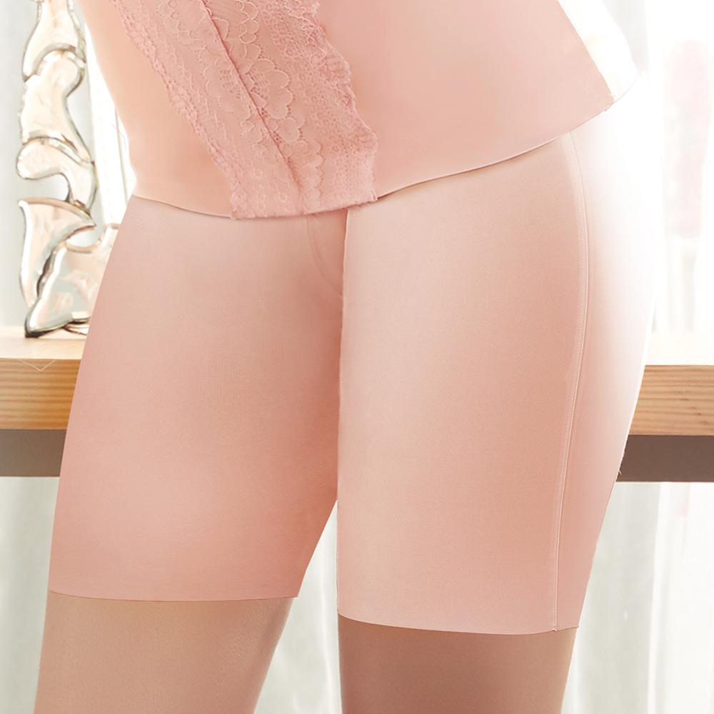 推Audrey-美膚Bra 長型修飾束褲(粉透膚)