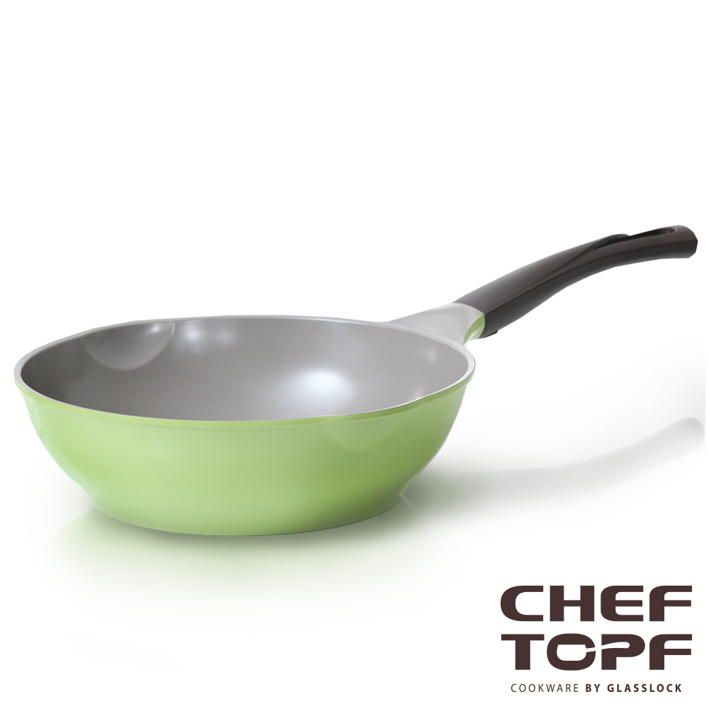 Chef Topf薔薇系列不沾炒鍋28cm