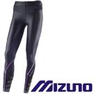 Mizuno BG 8000 Ⅱ 女緊身褲 K2MJ5D0197(黑x紫)