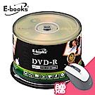 E-books 國際版 16X DVD-R 100片桶 (加贈M31光學滑鼠)