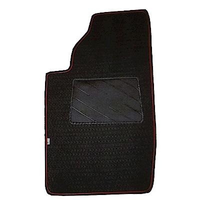 【葵花】量身訂做-汽車地墊-耐磨+防漏邊-雙前座