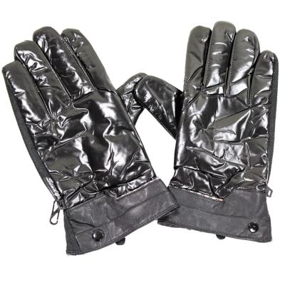 [快]omax多款式防寒防滑珠光手套-男
