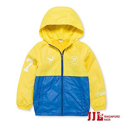 JJLKIDS 城市男孩拼接防風外套(黃色)