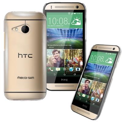 Metal-Slim HTC One mini 2 PC透明系列 新型保護殼