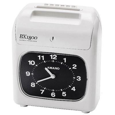 AMANO天野  BX-1800 單色打卡鐘