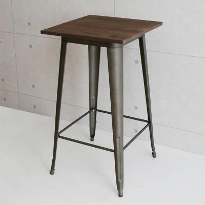 微量元素 復刻新工業榆木吧台桌