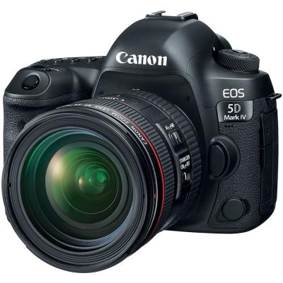 【豪華組】Canon 5D Mark IV (5D4) + 24-70mm 變焦鏡組(公司貨)