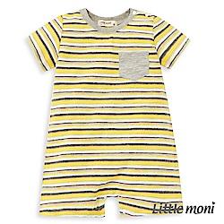 Little moni 條紋連身褲 (2色可選)