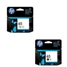 HP NO.65黑色+彩色墨水匣合購