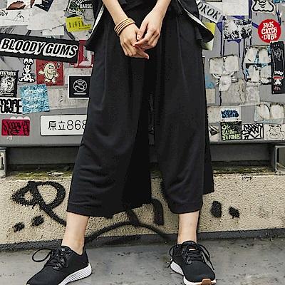 FILA #東京企劃 女針織長褲-黑5PNS-1414-BK