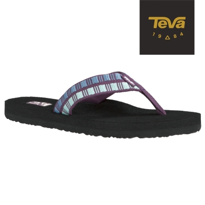 TEVA 美國-女 Mush II 經典織帶夾腳拖鞋 (紫)