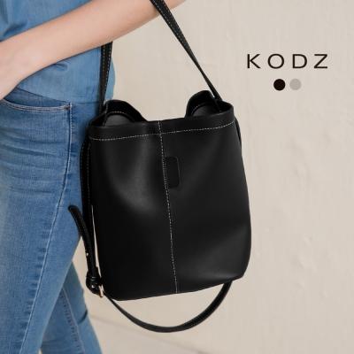 東京著衣-KODZ 極簡唯美側背水桶包(共二色)