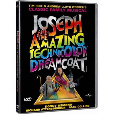 約瑟夫與奇異的夢幻彩衣   DVD