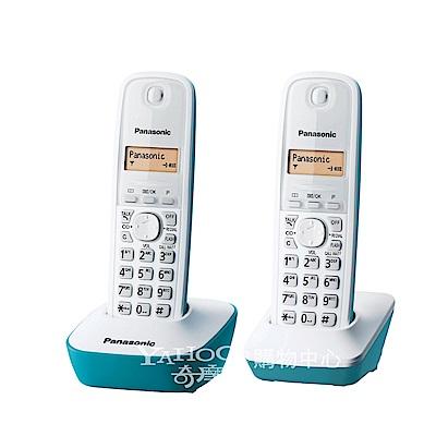 Panasonic 國際牌數位高頻無線電話 KX-TG1612 (水漾藍)