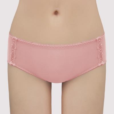 曼黛瑪璉-保氧低腰寬邊三角內褲(溫潤粉)
