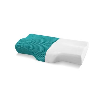 記憶枕 歐美熱銷款 超吸溼排溼表布 3D護頸型釋壓記憶枕 大尺寸 1入