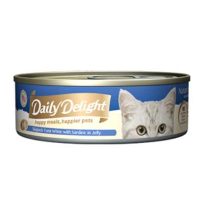 爵士貓吧 機能化毛餐《鰹魚白肉+沙丁魚》80g